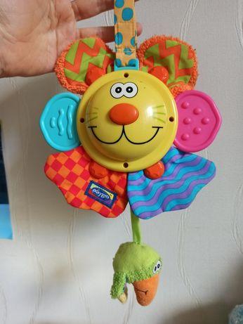 Playgro игрушка подвеска мобиль прорезыватель