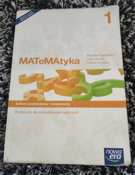 Podręcznik Matematyka 1 rozszerzony nowa era