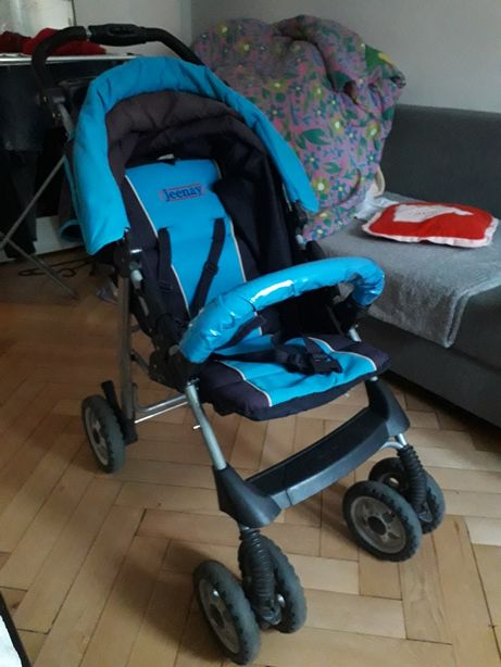 Spacerówka/wózek spacerowy niebieski