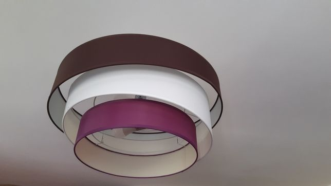 Lampa sufitowa 3koła 60cm.