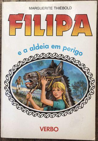 Livro Filipa e a aldeia em perigo