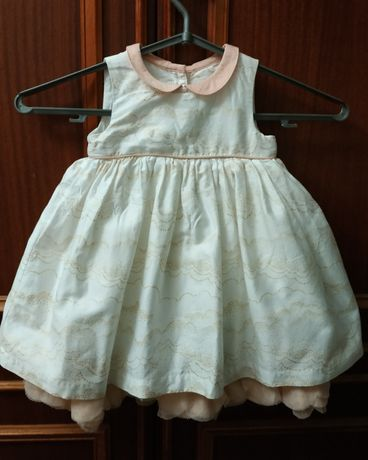 нарядное платье Marks&Spencer снежинка