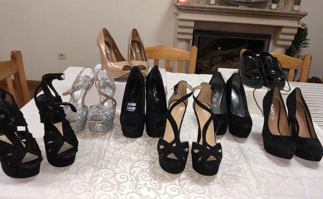 Sapatos como novos (50€ os 8 pares)