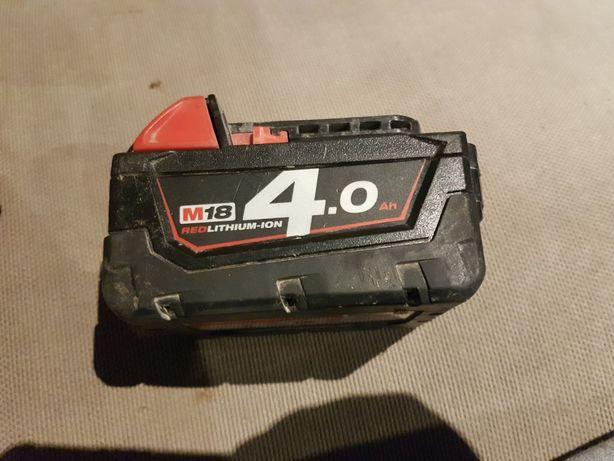 bateria milwaukee m18 18v 4ah red lithium jon m18b4