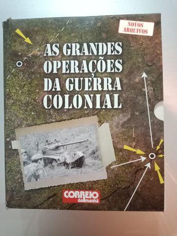 As Grandes Operações da Guerra Colonial - fascículos completos