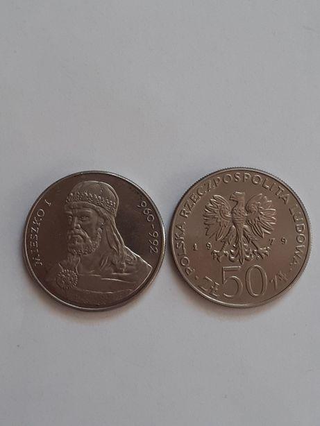 Moneta 50 zł 1979 r Mieszko I - 35 zł