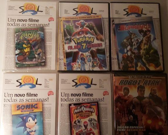 DVDs Filmes animados