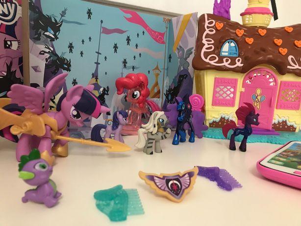 my little pony zekora discord luna spike domek kucyki psi patrol