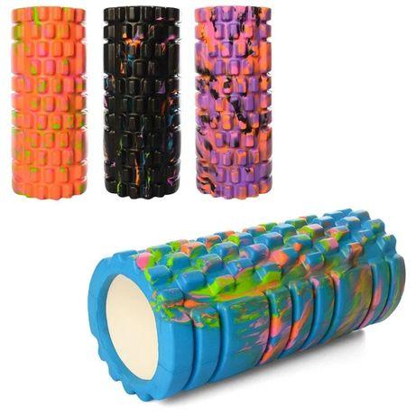 Массажер, валик, ролик массажный для спины, ролик для йоги  29  и 33