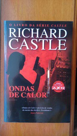 "Livro ""Ondas de Calor"" de Richard Castle"
