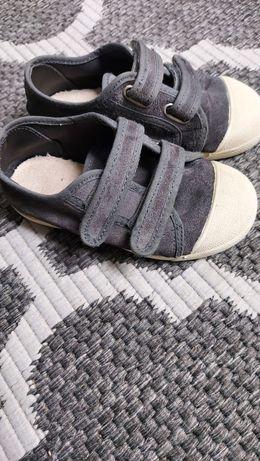 Buty trampki skórzane Zara