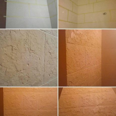 Декоративная отделка стен. Венецианская штукатурка и другие виды.