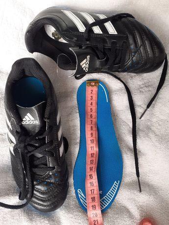 Футбольні буци кеди копочки Adidas стєлька 19,5см Футбольные буцы