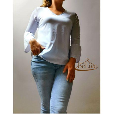 PRZECENA Koszula z dzwoneczkowym rękawem L/XL