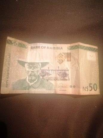 Продам купюру 50 Namibia Dollars