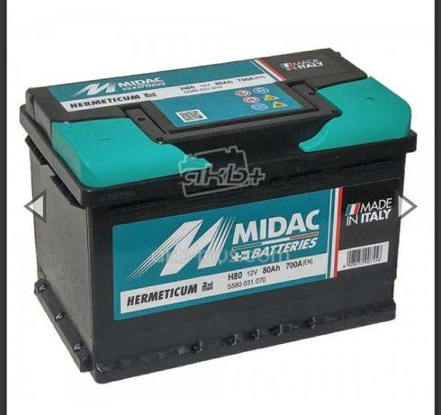 Midac52,60,62,70,74,80,100(Італія) один з кращих на ринку Акумуляторів