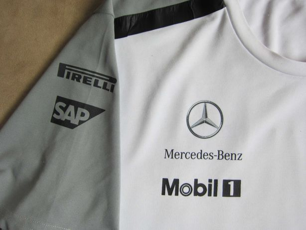 Мужская футболка Mercedes-Benz McLaren