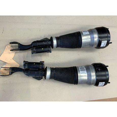 S63 AMG радиатор масляный, вентилятор радиатора, пневмат амортизаторы