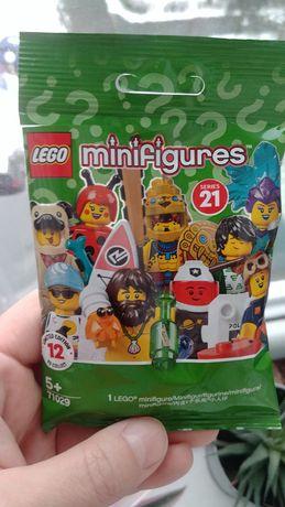 Lego minifigures kosmiczny policjant seria 21 ludzik minifigurka