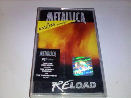 Kaseta audio Metallica Reload