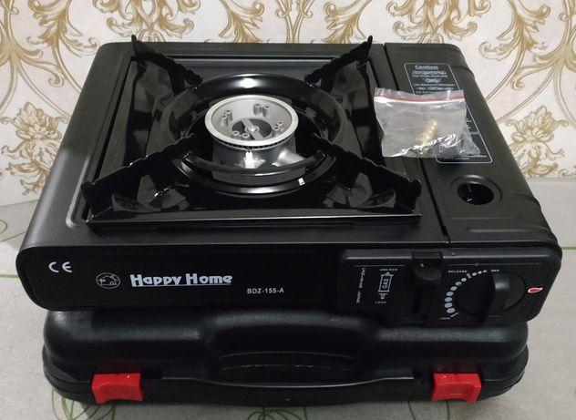 Портативная газовая плита Happy Home