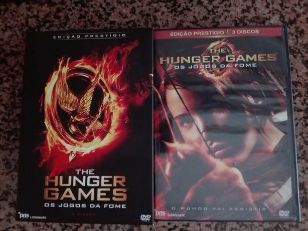 Filme The Hunger Games/Os Jogos da Fome Edição Prestígio c/ 4 postais