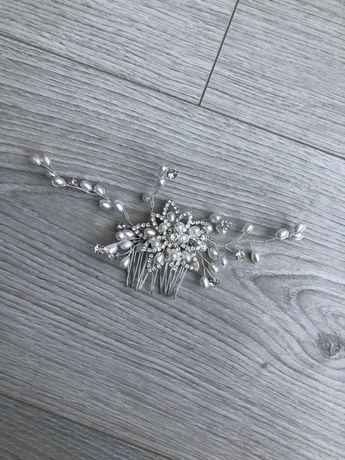 Grzebyk ślubny / Ozdoba do włosów ślubna