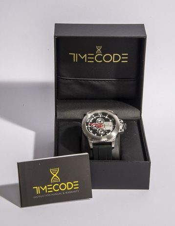 TIMECODE TC-1009-01 WWW 1991 49mm Multifunction watch