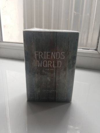 Oriflame Friends World Орифлейм Френдс Ворлд туалетная вода для мужчин