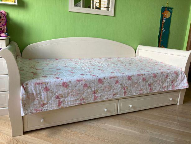 Кровать-диван детская/подростковая MyBaby 90х190 см