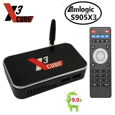 Smart TV Box UGOS X3 Cube 4K HDR
