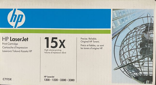 Toner HP Laserjet 15x ( 2 unid )
