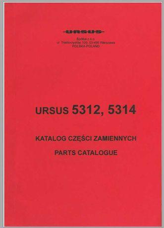 Katalog części Ursus 5312, 5314