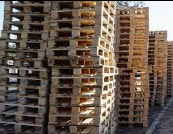Drewno palety na meble domki tarasy podesty opał itd
