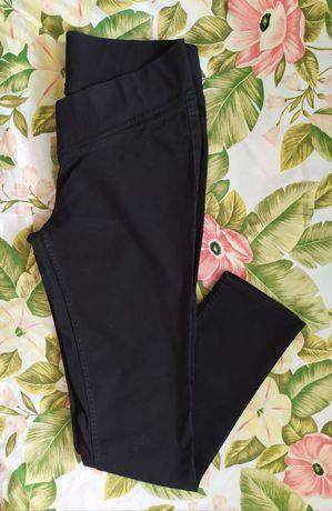 Spodnie ciążowe H&M mama 44 czarne XXL ubrania odzież utwórz zestaw