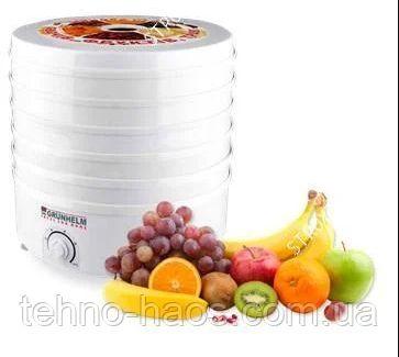 Сушилка для овощей и фруктов Grunhelm BY1162 Сушка для грибов Сушарка
