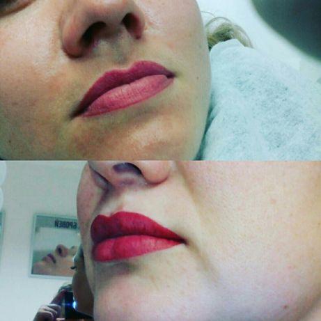 Перманентный макияж (татуаж бровей, губ, век)! Акционная цена - 490грн