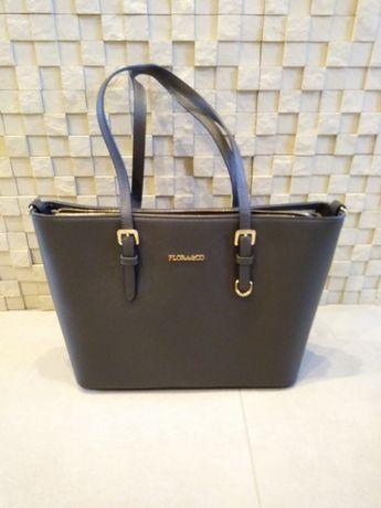 Nowa torba torebka Flora Co ciemno szara