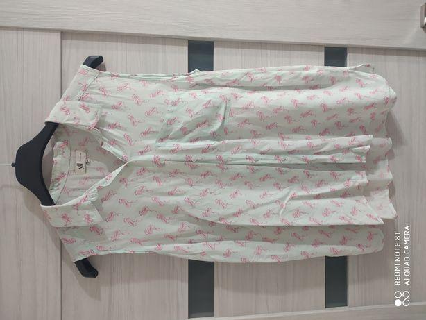 Reserved koszula flamingi roz. 36/38