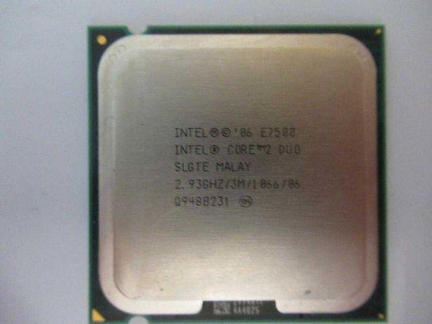 Intel Core 2 Duo E7500 2.93GHz/3Mb/1066MHz/s775 SLGTE