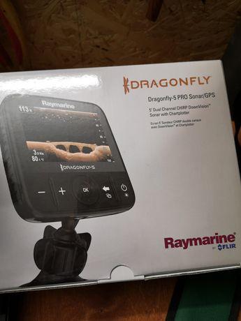 Echosonda Raymarine Dragonfly 5pro. Zestaw na gwarancji