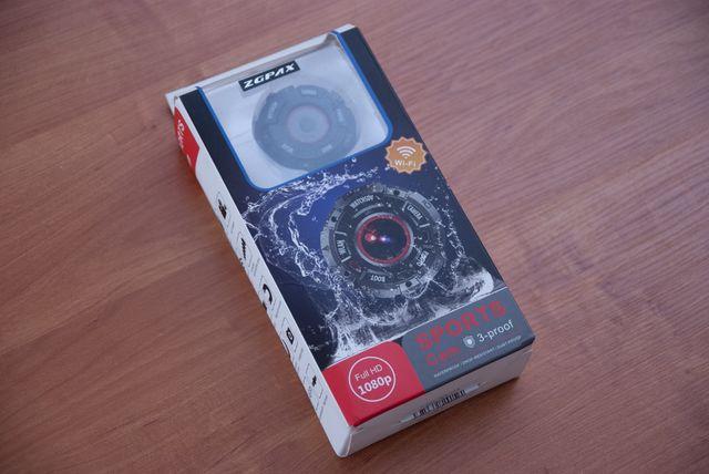 Nowa Kamera ZGPAX S222, 1080px, fullhd, 8 Mega Pixeli Wi-Fi Sportowa