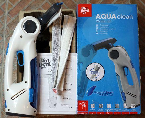 DIRT DEVIL aquaclean dd400 akumulatorowa ręczna myjka do okien OKAZJA!