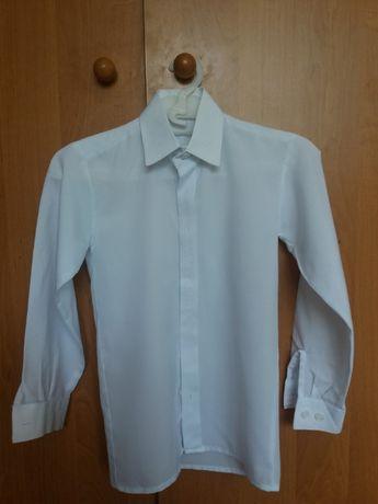 белая рубашка с вышивкой для дошкольника 3-5 лет