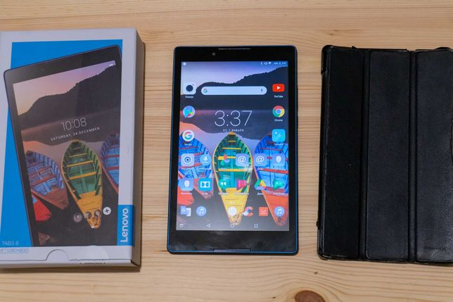 Планшет Lenovo Tab3 8 на 2GB/16GB + чехол