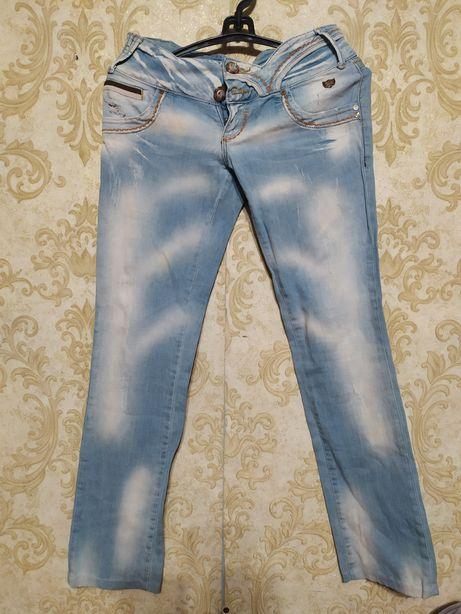 Джинсовые штаны   женские