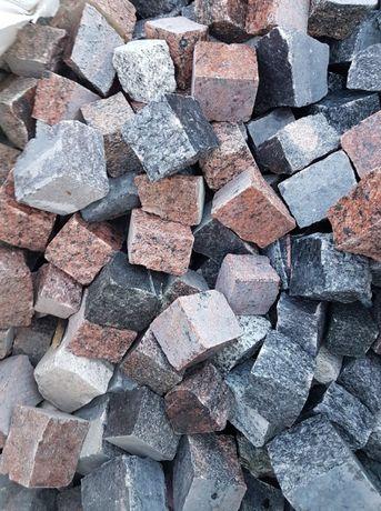 Cały TIR (24 tony) mozaika 4/6, kostka granitowa, kamienna.