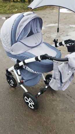 Wózek 3w1/4w1 Adamex Blue Dream Limitowana Edycja Piękny