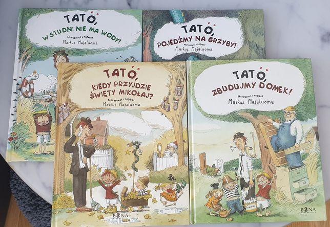 Tato, pójdźmy na Grzyby Majaluoma książka dla dzieci
