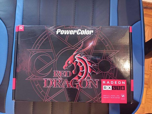Placa Gráfica PowerColor Red Dragon RX 570 8GB GDDR5